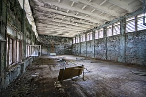 Chernobyl exclusion: The school sports hall