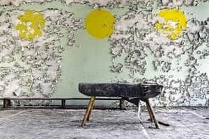 Chernobyl exclusion: The school gymnasium