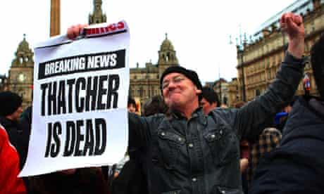 Margaret Thatcher death