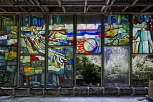 Chernobyl exclusion: Pripyat ghost town in the Chernobyl exclusion zone, Ukraine