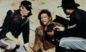 Burt Lancaster, centre, in Ulzana's Raid, written by Alan Sharp