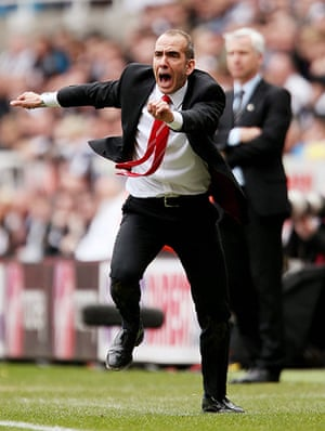 Paolo Di Canio: Newcastle United v Sunderland - Barclays Premier League