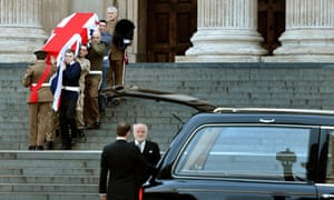 Lady Thatcher funeral rehearsal
