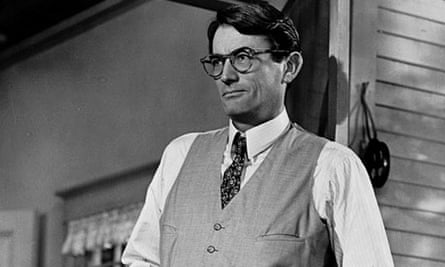 Gregory Peck in To Kill a Mockingbird, 1962