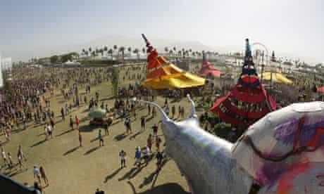 A view of Coachella Music Festival