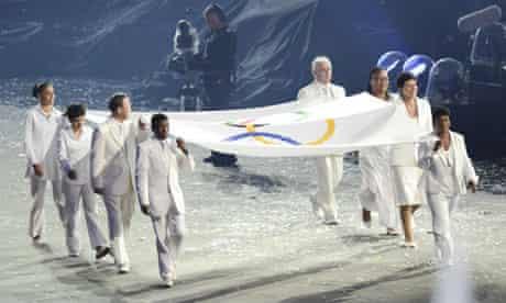 Marina Silva at the London 2012 Olympics opening ceremony
