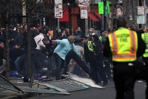 boston gallery: boston police