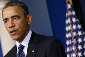 boston gallery: President Obama Makes Remarks On The Explosions At The Boston Marathon