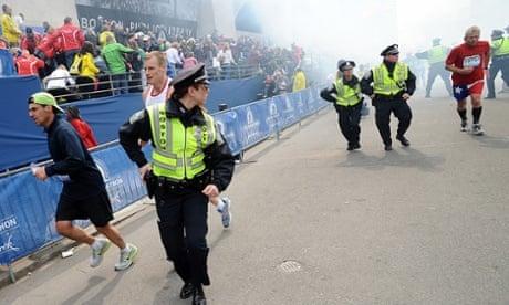 Two blasts at Boston Marathon kill three and injure more than 100 ... 42c943a793dfc