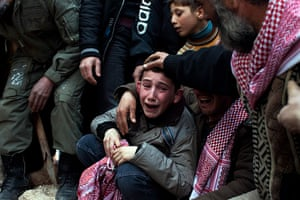 Pulitzer prize: A boy called Ahmed mourns his father