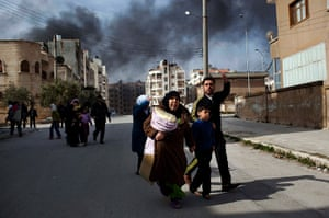 Pulitzer prize: A family escapes from fierce fighting in Idlib