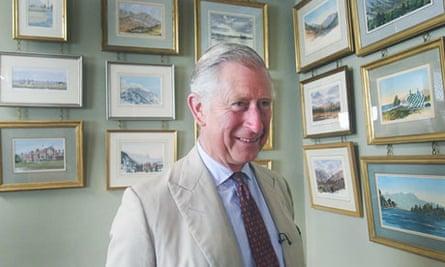 Prince Charles presents Royal Paintbox on ITV