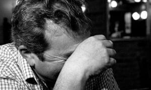Ken Radford cries