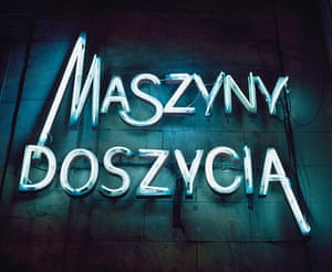 Polish Cold War Neon: Sewing Machine