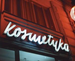 Polish Cold War Neon: Health and Beauty