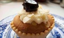 Lily Vanilli's bakewell tart.