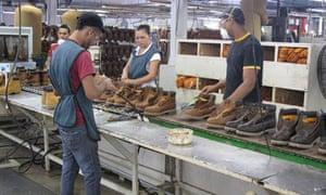 Timberland factory