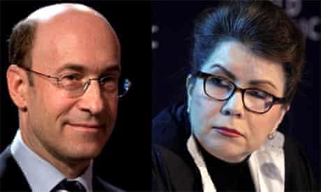 Kenneth Rogoff and Carmen Reinhart