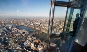 shard view over London