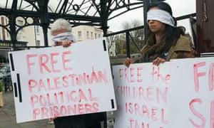 Samer Issawi protest