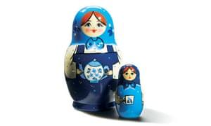 Two Russian dolls