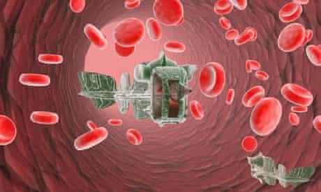Nanobots in the bloodstream
