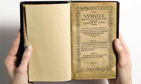 The Bay Psalm Book, printed in 1640