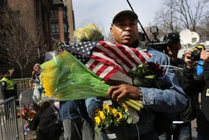 boston vigils: Boston Deals With Aftermath Of Marathon Explosions