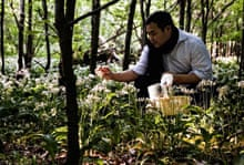 David Chang foraging in Denmark