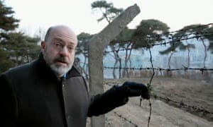 Sweeney in North Korea - video grab