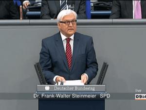 Frank-Walter Steinmeier of the SPD