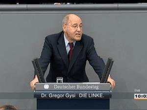 Dr Gregor Gysi