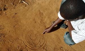 a Malawian permaculture farmer