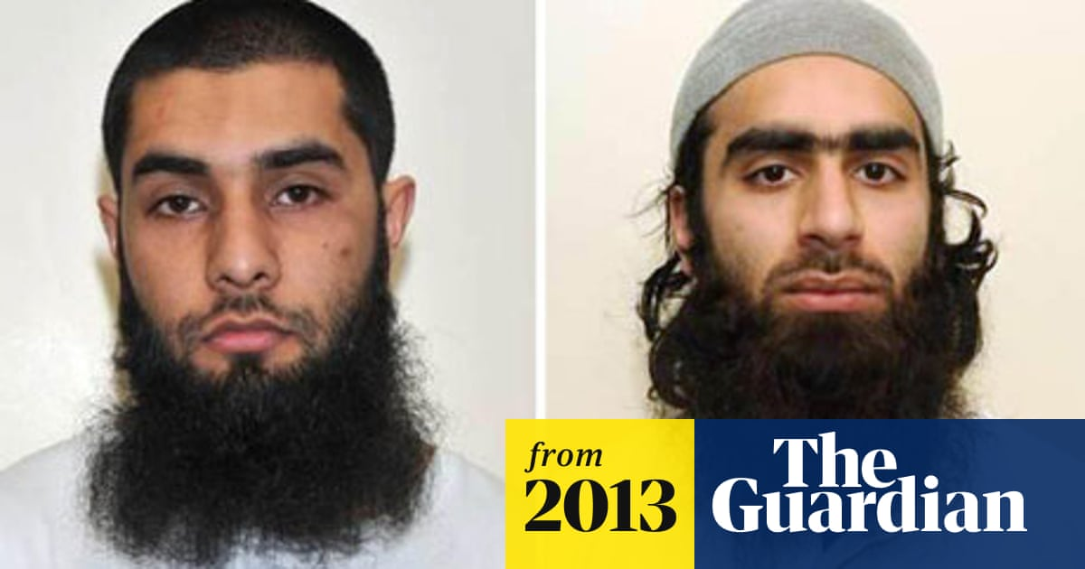 Luton Terror Plot Four Jailed Over Plan To Bomb Army Centre Luton The Guardian