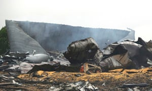 The remains of a fertilizer plant destroyed by an explosion in West, Texas.