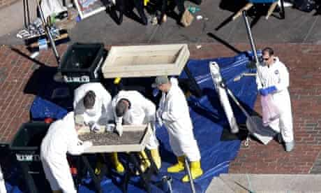 FBI sift through Boston evidence