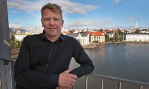 Jón Gnarr, the mayor of Reykjavík
