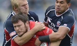 Matt Hawkins, Folau Niua USA rugby