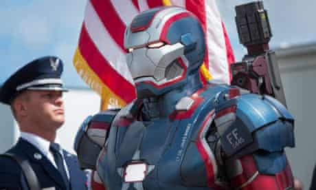 The Iron Patriot from Iron Man 3