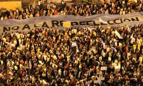 Protest against Cristina Fernandez De Kirchner