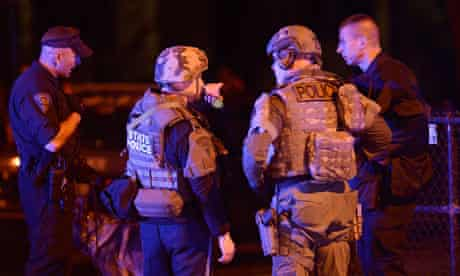 Boston attacks: police scour Watertown for Suspect Two