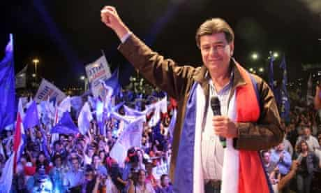 Paraguayan presidential candidate Efrain Alegre