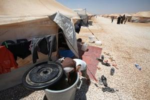 Zaatari refugee camp: Al Zaatary Camp for Syrian Refugees