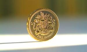 One pound coin