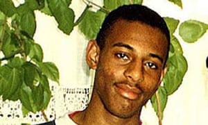 A family photograph of Stephen Lawrence.