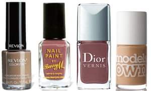 Nude nail varnishes
