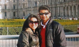 Savita Halappanavar and her husband Praveen