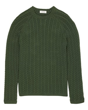 shop the look: Gassed cotton cable sweater