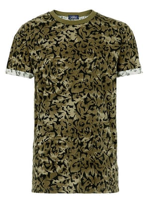 shop the look: Leopard camo print t-shirt