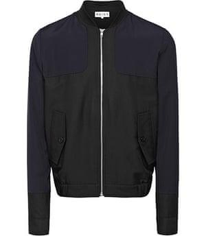 shop the look: Short baseball jacket